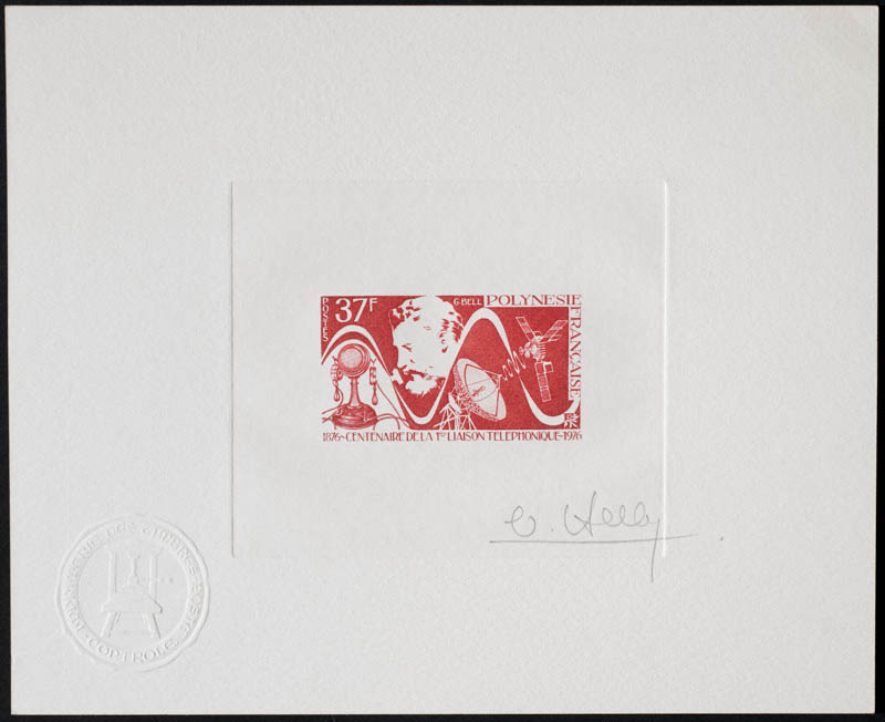 Andorra artist's proof stamp